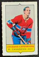 V7574--1969-70 O-Pee-Chee Four-in-One Mini Card Jacques Laperriere