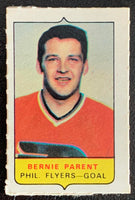 V7576--1969-70 O-Pee-Chee Four-in-One Mini Card Bernie Parent