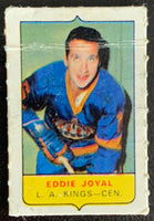 V7584--1969-70 O-Pee-Chee Four-in-One Mini Card Eddie Joyal