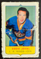 V7585--1969-70 O-Pee-Chee Four-in-One Mini Card Eddie Joyal