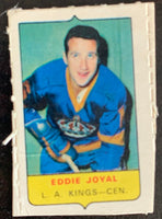 V7586--1969-70 O-Pee-Chee Four-in-One Mini Card Eddie Joyal