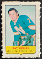 V7587--1969-70 O-Pee-Chee Four-in-One Mini Card Ray Cullen