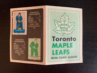 V7595--1969-70 O-Pee-Chee Four-in-One Card Album Toronto Maple Leafs
