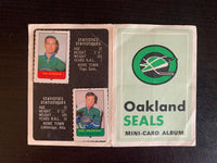 V7596--1969-70 O-Pee-Chee Four-in-One Card Album Oakland Seals
