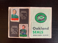 V7597--1969-70 O-Pee-Chee Four-in-One Card Album Oakland Seals