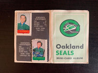 V7598--1969-70 O-Pee-Chee Four-in-One Card Album Oakland Seals