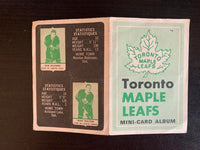 V7593--1969-70 O-Pee-Chee Four-in-One Card Album Toronto Maple Leafs