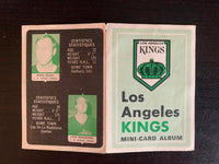 V7599--1969-70 O-Pee-Chee Four-in-One Card Album Los Angeles Kings