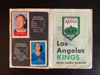 V7601--1969-70 O-Pee-Chee Four-in-One Card Album Los Angeles Kings