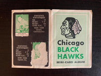V7603--1969-70 O-Pee-Chee Four-in-One Card Album Chicago Blackhawks