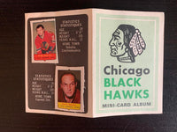 V7605--1969-70 O-Pee-Chee Four-in-One Card Album Chicago Blackhawks