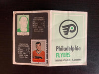 V7609--1969-70 O-Pee-Chee Four-in-One Card Album Philadelphia Flyers