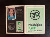 V7610--1969-70 O-Pee-Chee Four-in-One Card Album Philadelphia Flyers