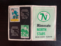 V7611--1969-70 O-Pee-Chee Four-in-One Card Album Minnesota North Stars