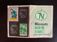 V7612--1969-70 O-Pee-Chee Four-in-One Card Album Minnesota North Stars