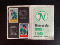 V7613--1969-70 O-Pee-Chee Four-in-One Card Album Minnesota North Stars