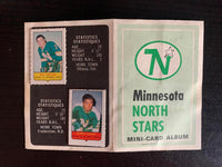 V7614--1969-70 O-Pee-Chee Four-in-One Card Album Minnesota North Stars