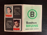 V7616--1969-70 O-Pee-Chee Four-in-One Card Album Boston Bruins - ORR