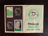 V7618--1969-70 O-Pee-Chee Four-in-One Card Album Pittsburgh Penguins