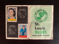 V7620--1969-70 O-Pee-Chee Four-in-One Card Album St. Louis Blues