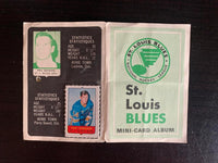 V7621--1969-70 O-Pee-Chee Four-in-One Card Album St. Louis Blues