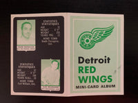 V7624--1969-70 O-Pee-Chee Four-in-One Card Album Detroit Red Wings