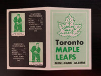 V7627--1969-70 O-Pee-Chee Four-in-One Card Album Toronto Maple Leafs