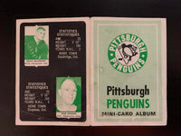 V76289--1969-70 O-Pee-Chee Four-in-One Card Album Pittsburgh Penguins