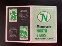 V7632--1969-70 O-Pee-Chee Four-in-One Card Album Minnesota North Stars