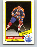 1976-77 WHA O-Pee-Chee #16 Bryan Campbell  Edmonton Oilers  V7654