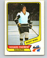 1976-77 WHA O-Pee-Chee #37 Rosaire Paiement  Indianapolis Racers  V7678
