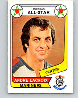 1976-77 WHA O-Pee-Chee #70 Andre Lacroix AS  San Diego Mariners  V7714