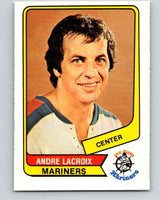 1976-77 WHA O-Pee-Chee #80 Andre Lacroix  San Diego Mariners  V7726