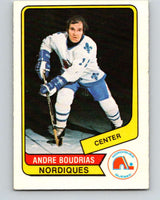 1976-77 WHA O-Pee-Chee #87 Andre Boudrias  Quebec Nordiques  V7736