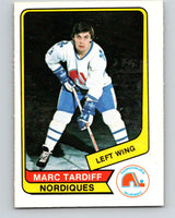 1976-77 WHA O-Pee-Chee #118 Marc Tardif  Quebec Nordiques  V7778