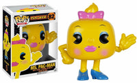 Funko Pop - 82 Games Pac-Man - Ms. Pac-Man Vinyl Figure *VAULTED