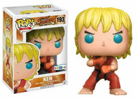 Funko Pop - 193 Games Street Fighter  - Ken Vinyl Figure *EXCLUSIVE