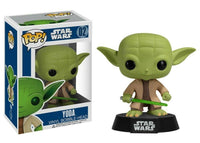 Funko Pop - 02 Star Wars - Yoda Vinyl Figure