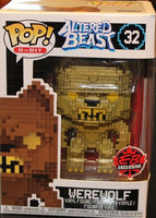 Funko Pop - 32 8-Bit Altered Beast - Werewolf Vinyl Figure *EXCLUSIVE