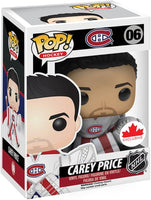 Funko Pop - 06 Hockey Montreal Canadiens - Carey Price Vinyl Figure *EXCLUSIVE