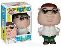 Funko Pop - 31 Animation Family Guy - Peter Vinyl Figure *VAULTED