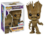 Funko Pop - 84 Marvel Guardians Galaxy - Angry Groot Vinyl Figure *EXCLUSIVE-VAULTED
