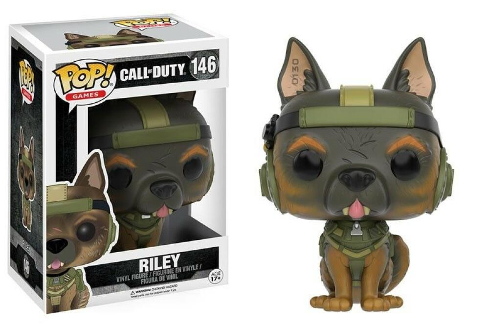 Funko Pop - 146 Games Call of Duty - Riley Vinyl Figure *VAULTED