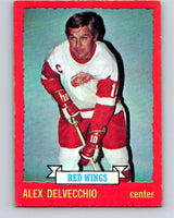 1973-74 O-Pee-Chee #1 Alex Delvecchio  Detroit Red Wings  V7918