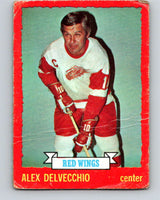 1973-74 O-Pee-Chee #1 Alex Delvecchio  Detroit Red Wings  V7920