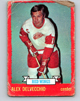 1973-74 O-Pee-Chee #1 Alex Delvecchio  Detroit Red Wings  V7921