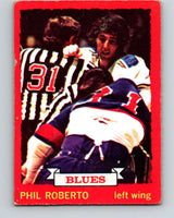 1973-74 O-Pee-Chee #3 Phil Roberto  St. Louis Blues  V7925
