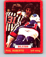 1973-74 O-Pee-Chee #3 Phil Roberto  St. Louis Blues  V7926