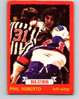 1973-74 O-Pee-Chee #3 Phil Roberto  St. Louis Blues  V7927