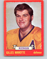 1973-74 O-Pee-Chee #5 Gilles Marotte  Los Angeles Kings  V7934
